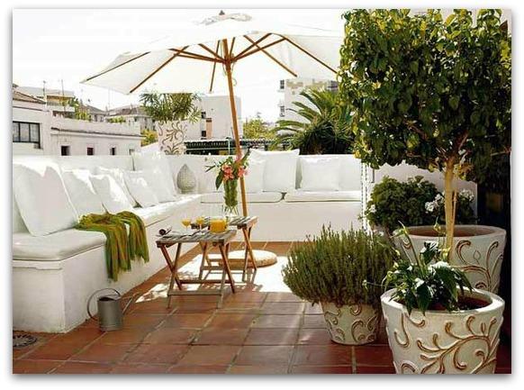 outdoor spaces - outdoor lounge - patio - terrace - rooftop terrace ...